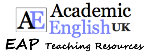 EAP Teaching Resources