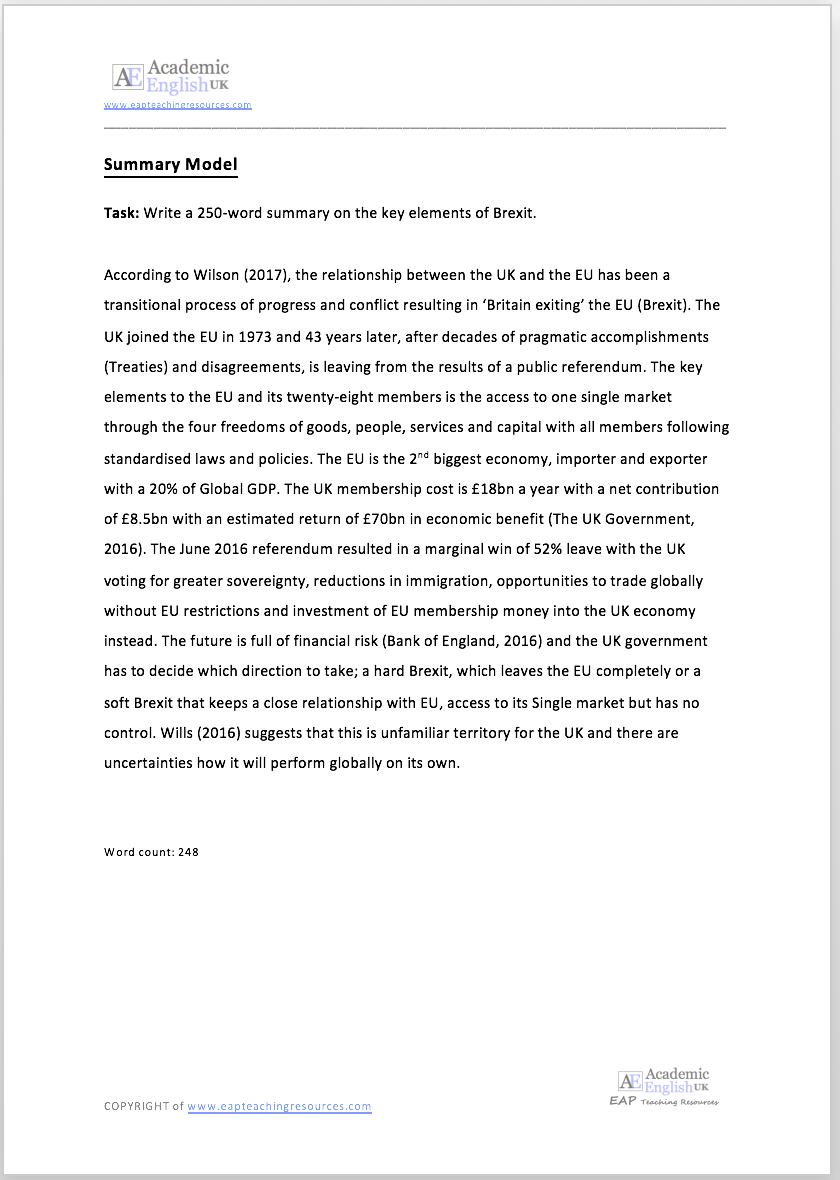 250 word essay examples